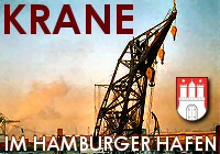 Hafenkrane in Hamburg