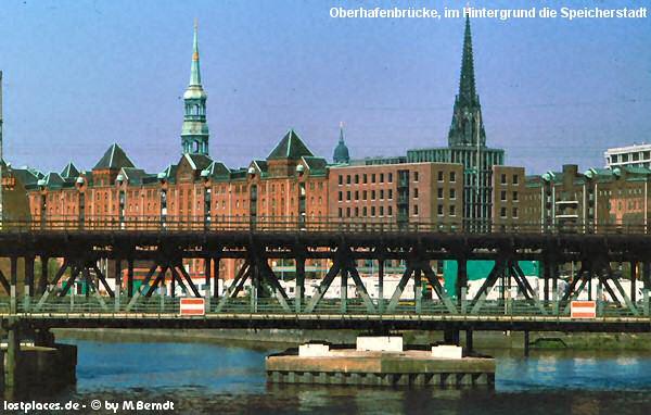 Bauwerk Hamburg ein sehr eigenartiges bauwerk die oberhafenbrücke in hamburg