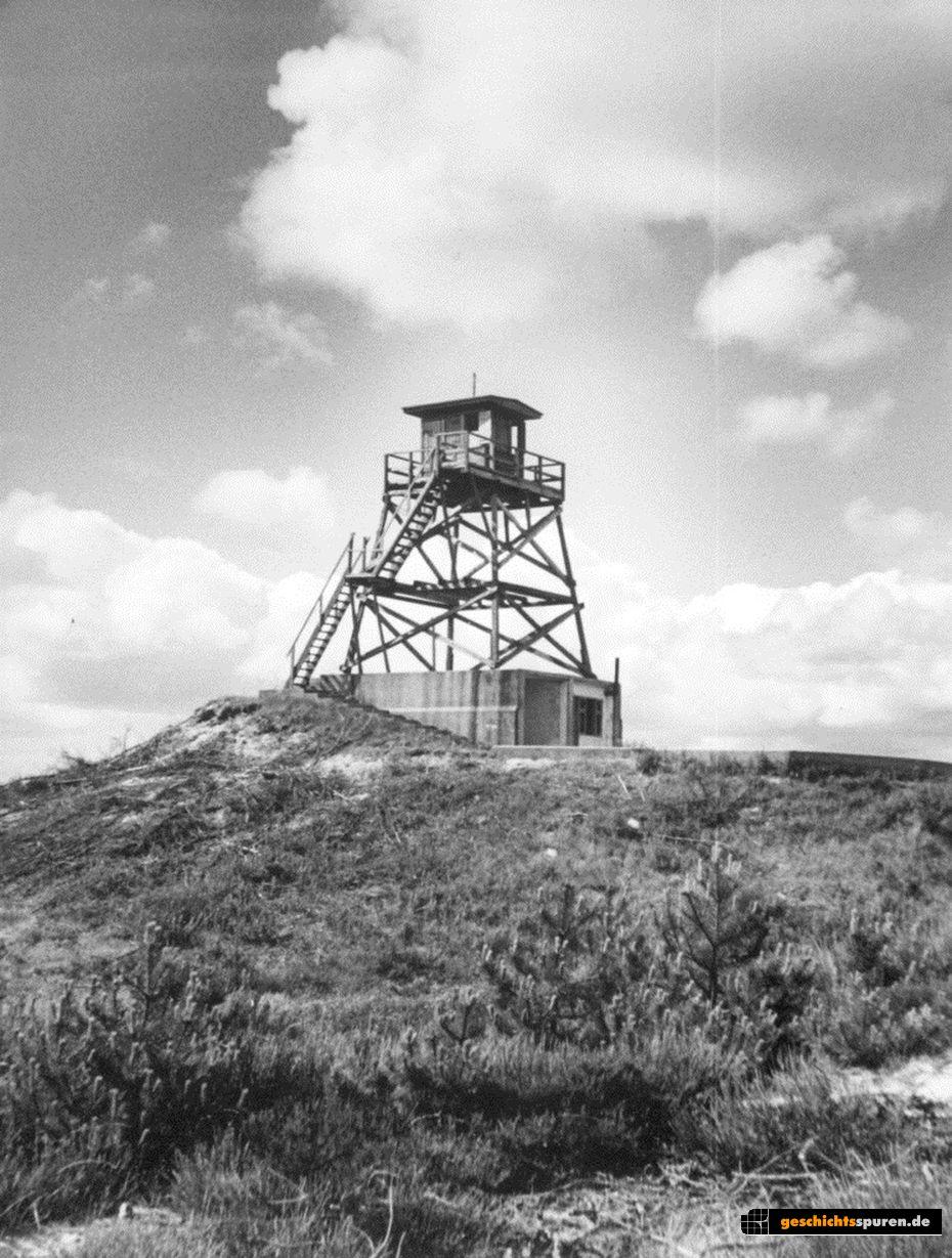 Turm im Lager Oksböl