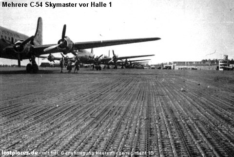 C-54 Skymaster in Celle