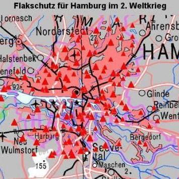 Flakschutz Fur Hamburg Im 2 Weltkrieg