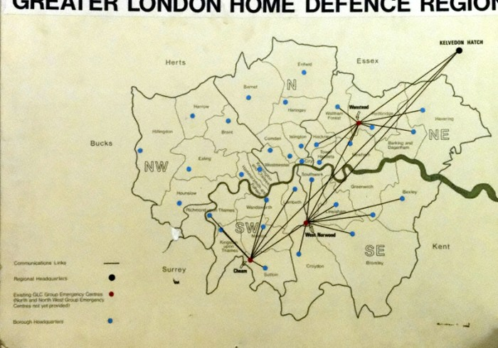 Greater London Home Defence Region